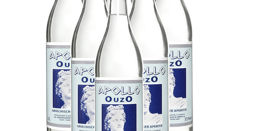 Apollo Ouzo  - Original -  6x 700ml  15,42 € proLiter