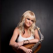 Mindi Abair Shows Off Her Saxophone
