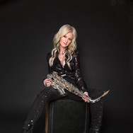 Mindi Abair And Her Saxophone Color