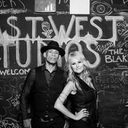 Mindi Abair and Randy Jacobs at EastWest Studios