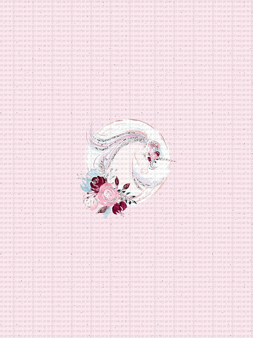 Uni Tale Pink Panel cotton lycra panel retail