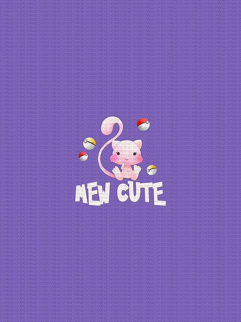 Pokie Cuties, Mew Cute, panel cotton lycra, retail