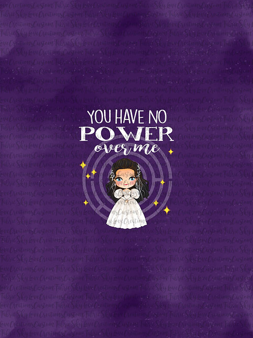 It's only forever, No power in purple, Panel cotton lycra retail