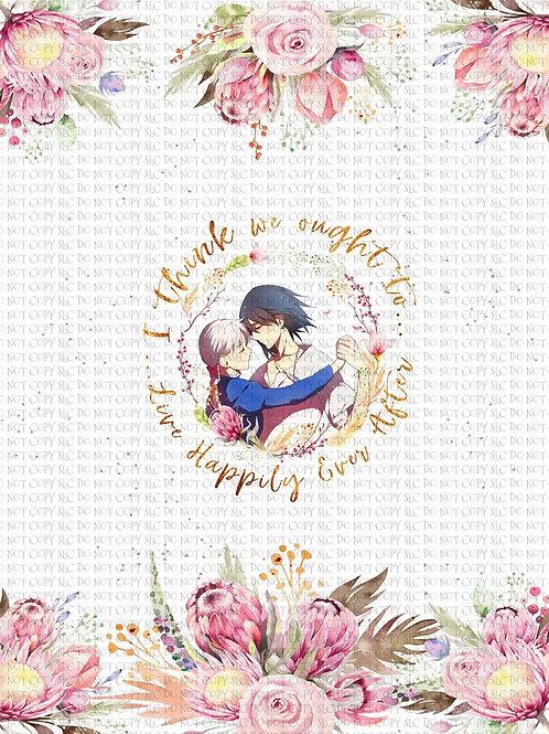 Howl & Sophie Floral Panel cotton lycra retail