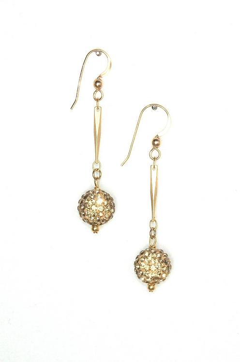 Golden Night Earrings