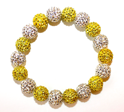 All Pave - Yellow White