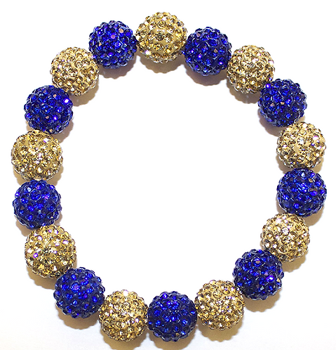 All Pave - Cobalt Gold