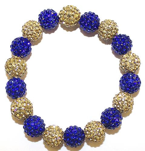 All Pave - Cobalt Gold