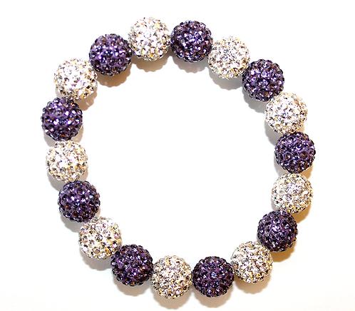 All Pave - Purple White