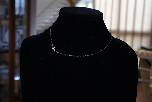 Simple Cross Necklace