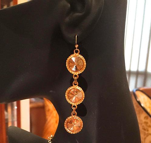 Queen Earrings - Gold
