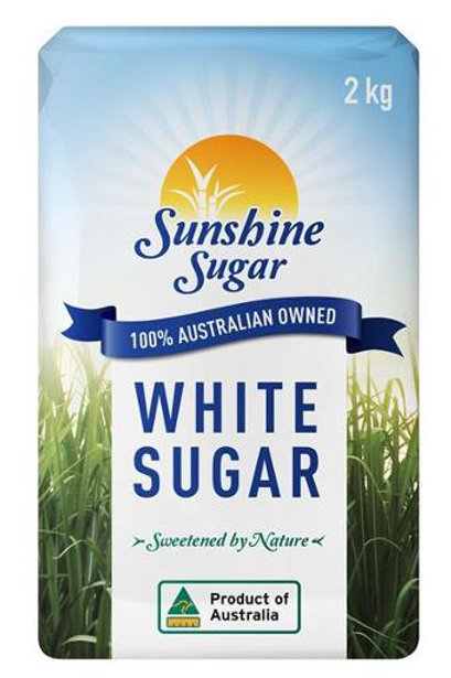 Sunshine White Sugar 2kg