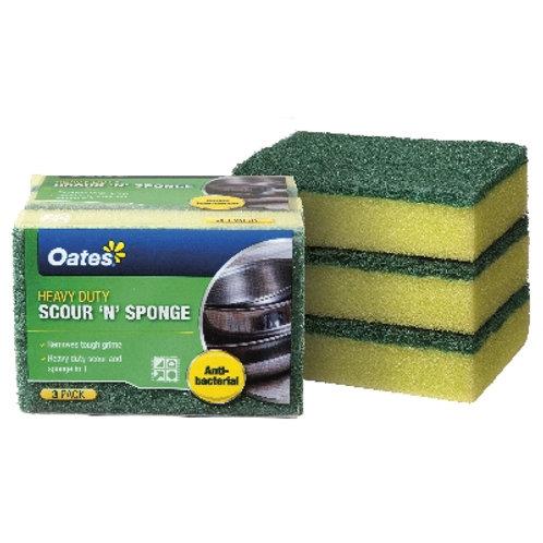 Oates Heavy Duty Scour 'N' Sponge