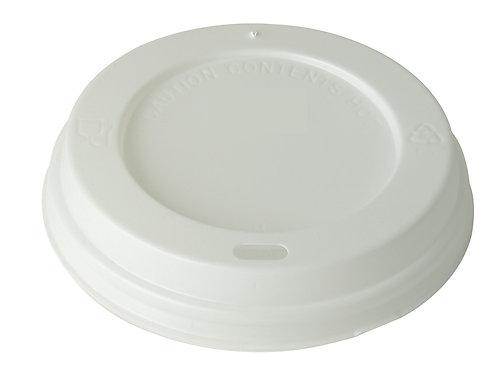 Coffee Cup Sipper Lids 12/16oz Pkt 100