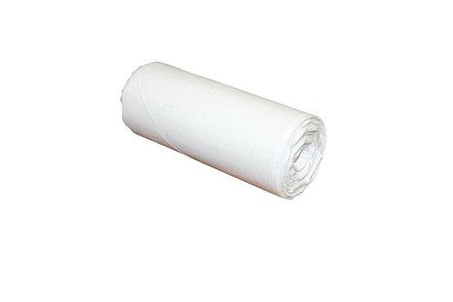 Bin Liners 27Ltr White 50 bags-roll