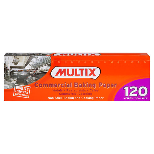 Multix Baking Paper 120mtr x 30cm