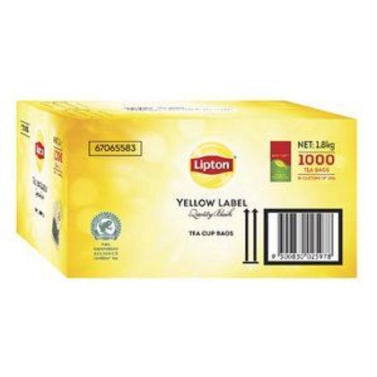 Lipton Quality Black Tea Bags 1000's