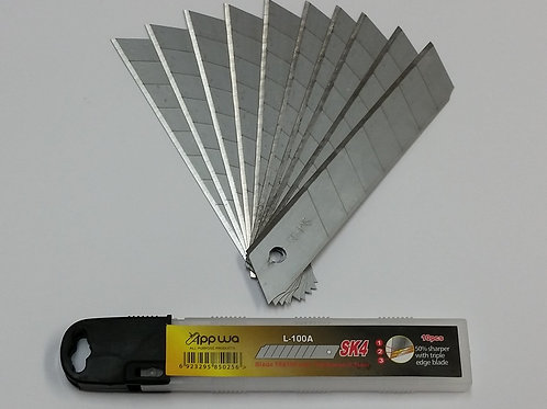 Utility Knife Blades 18mm Pkt 10