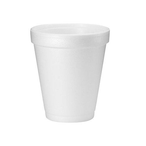 Foam Cups 6oz/177ml Pkt 25