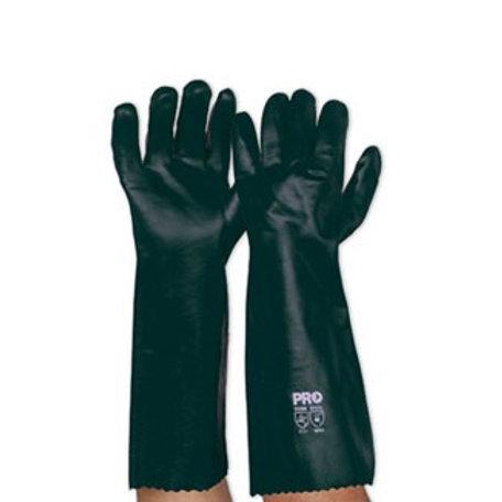 Green PVC Gloves Pkt 12