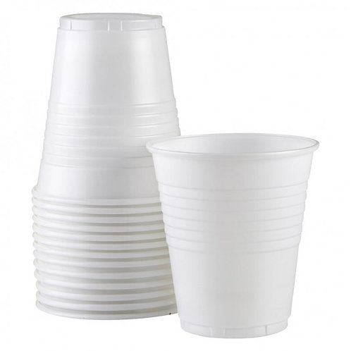 Plastic Cups 6oz/170ml Pkt 50