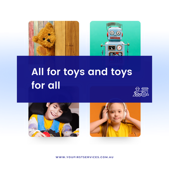 All for Toys & Toys for All !