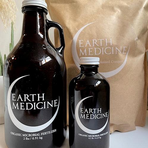 Earth Medicine organic microbial fertilizer