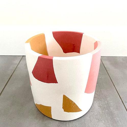 Franklin Acevedo-handmade resin planters