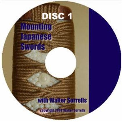 Mounting Japanese Swords DVD