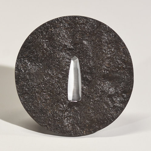 Rustic Wrought Iron Tsuba