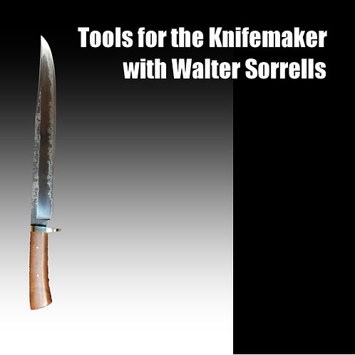 Tools for the Knife Maker DVD