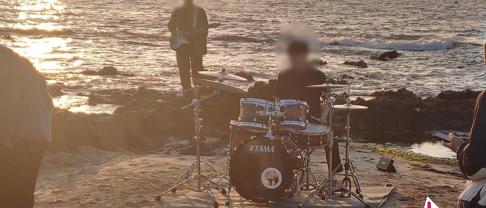 200601, 2 제주도 제주시, 서귀포시 영상 촬영 드럼 악기 지원: 탱크음향