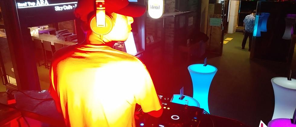 200820 제주시 애월읍 다인 오세아노 호텔 루프탑 DJ.PIL 공연: 탱크음향