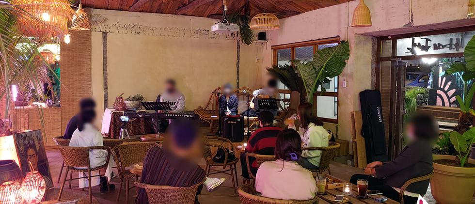 201010 서귀포시 어반정글 카페 공연 건반 대여: 탱크음향