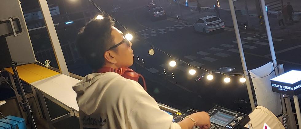 200521 제주도 이호 해수욕장 로스트 앤 헤븐 카페 DJ.PIL 공연 음향 기술지원: 탱크음향