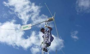 Balance de la primera experiencia de la energía eólica en Santa Fe conectada a la red