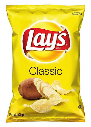 Plain Lays Chips 10 oz.