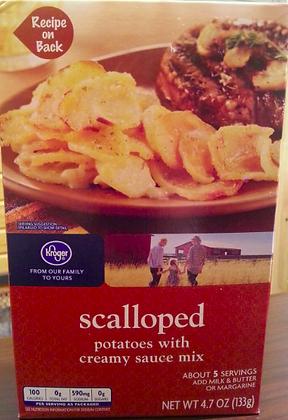 scalloped Potatoes Box Mix 4.7oz