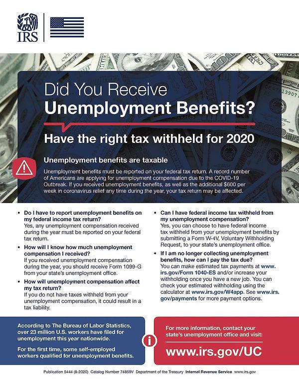 P 5444_final2020_8 unemployment benefit1