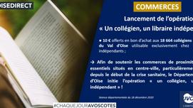 """Lancement de l'opération """"Un collégien, un libraire indépendant"""""""