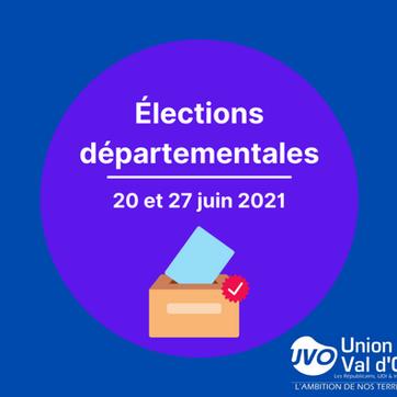 Elections départementales 2021 : le Groupe Union pour le Val d'Oise présente ses candidats !