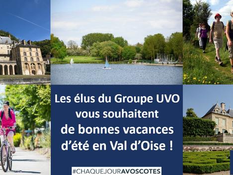 Bonnes vacances en Val d'Oise !