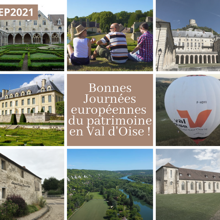Bonnes Journées européennes du patrimoine en Val d'Oise !