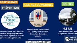 Bilan 2020 au Conseil départemental