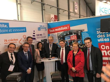 Lancement du fonds de péréquation commun aux 7 départements franciliens