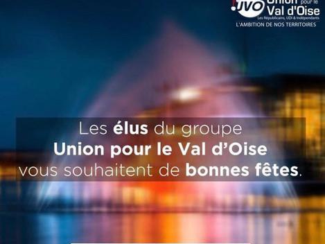 Les élus du Groupe UVO vous souhaitent de bonnes fêtes de fin d'année !
