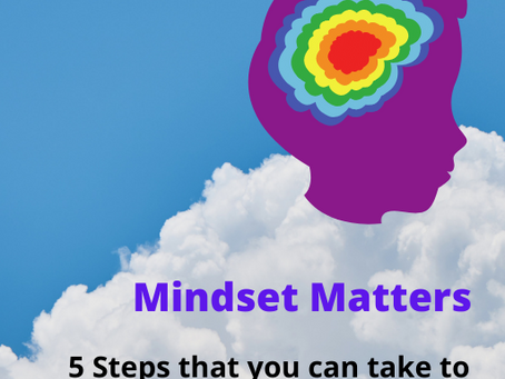 Mindset Matters - 5 Steps that you can take to create a Motivated Mindset.