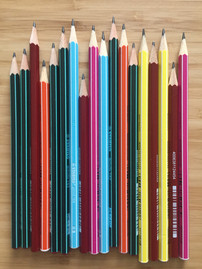 Les crayons à papiers, excellents outils !