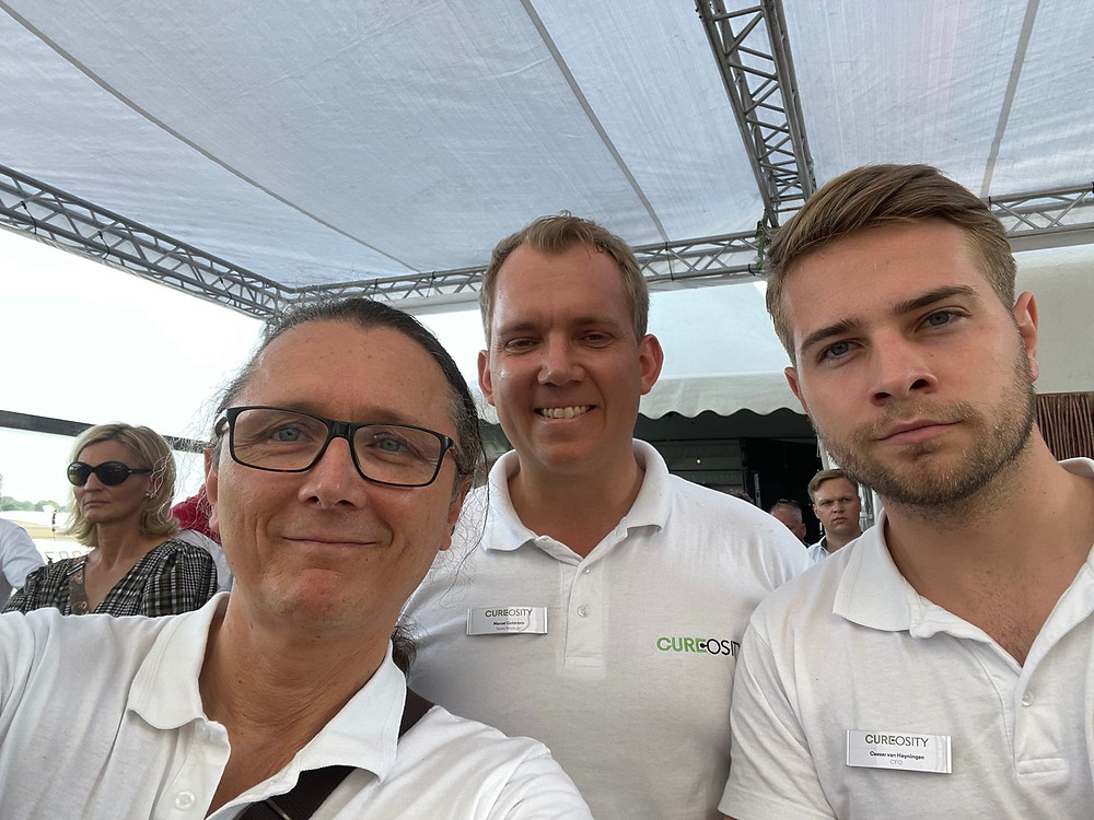 Thomas Saur, Marcel Goldstein, Caesar van Heyningen