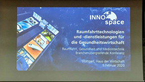 CUREosity as guest at DLR Inno Space 2020